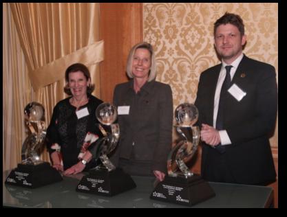 (From left) Ann Vickery (Hogan Lovells), Gail Stephens (SAS) and Dr.Charles Hugh-Jones (Sanofi)
