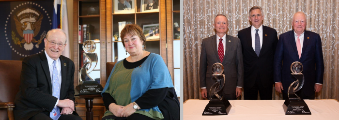 2018 Dr. Charles A. Sanders Award Winners